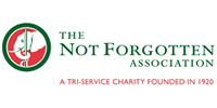 The Not Forgotten Association logo.