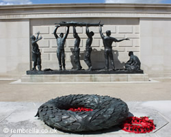 Armed Forces Memorial at the National Memorial Arboretum