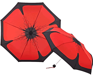 The Poppy Umbrella telescopic style.