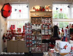 Musem shop at the Royal Hospital Chelsea, London